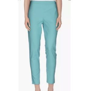 MOSCHINO Teal Womens Straight Leg Pants